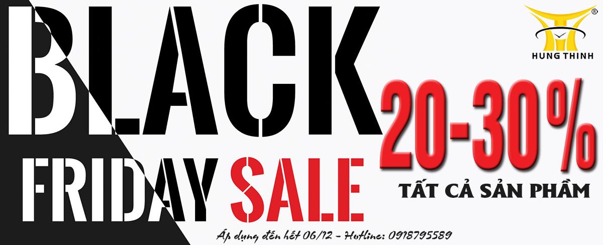 Siêu khuyến mãi Black Friday 15 đến 30%