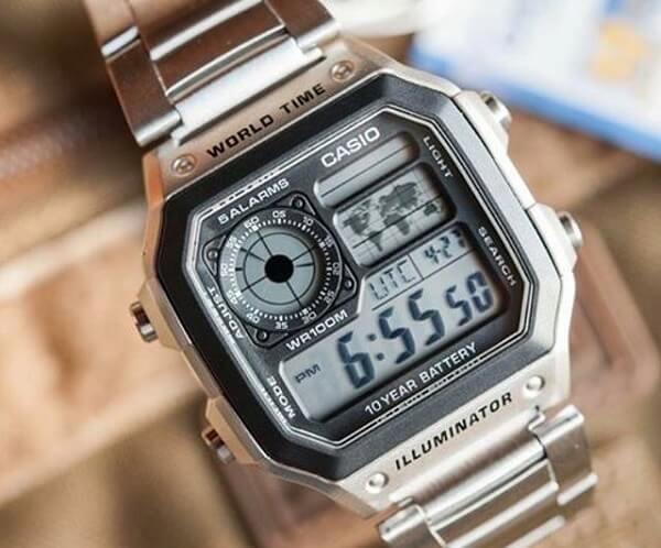 """4 lý do để đồng hồ casio 10 year battery """"chiều"""" được lòng mọi khách hàng"""