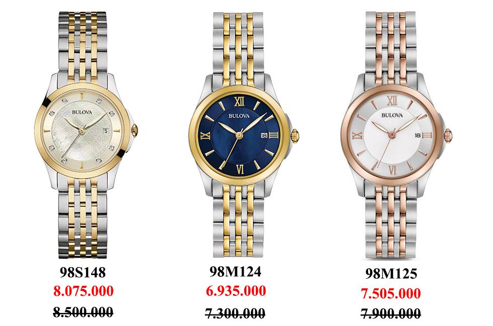 Những mẫu đồng hồ nữ Bulova Thụy Sỹ hot nhất hiện nay