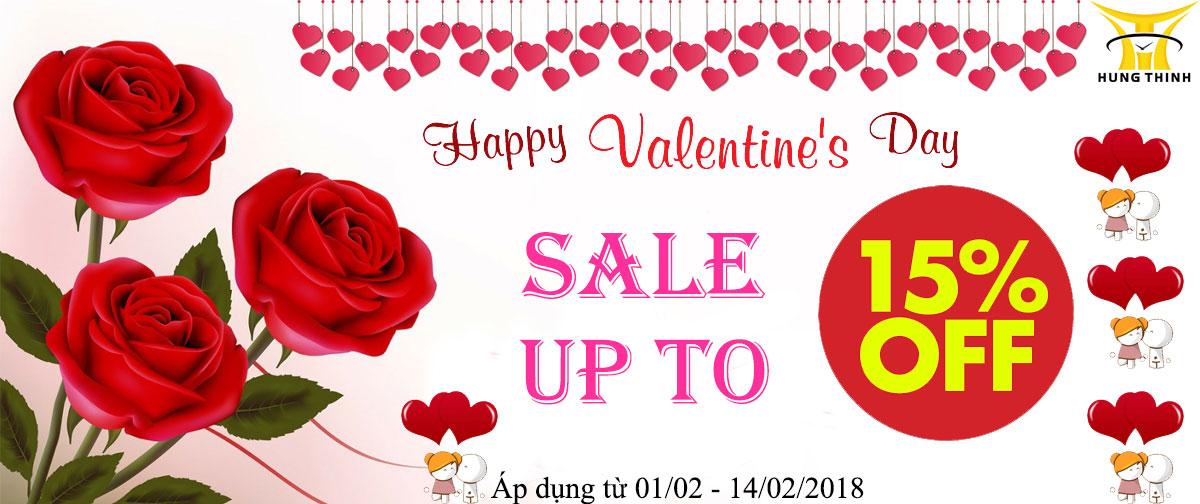 Chương trình giảm giá ngày lễ Valentine 2018