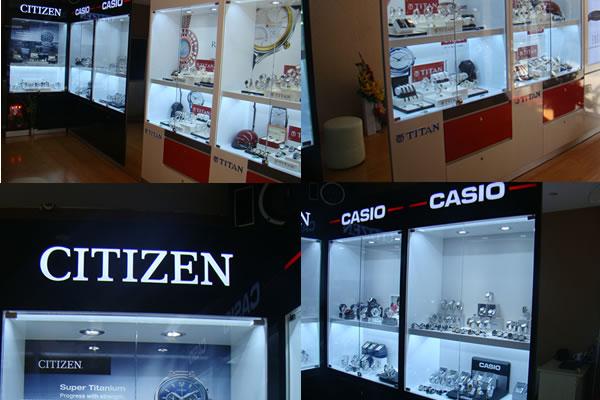 Cửa hàng đồng hồ cao cấp tại Quận 3 - Tp.HCM