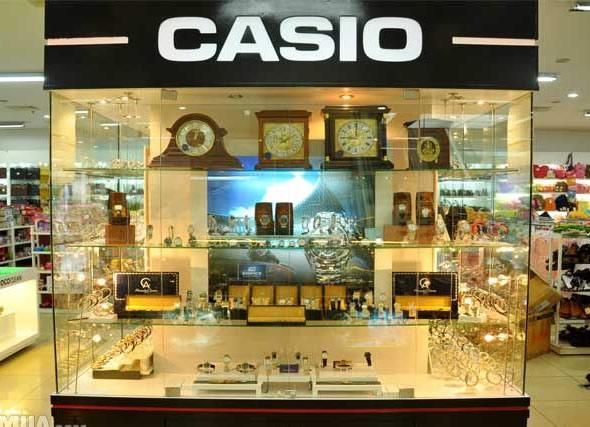 Cửa hàng đồng hồ Casio chính hãng