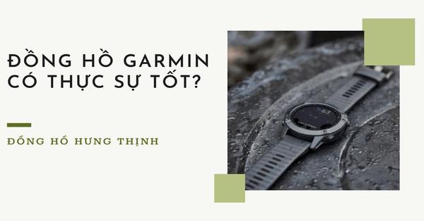 Đồng hồ Garmin là gì? Ưu và nhược điểm của đồng hồ Garmin