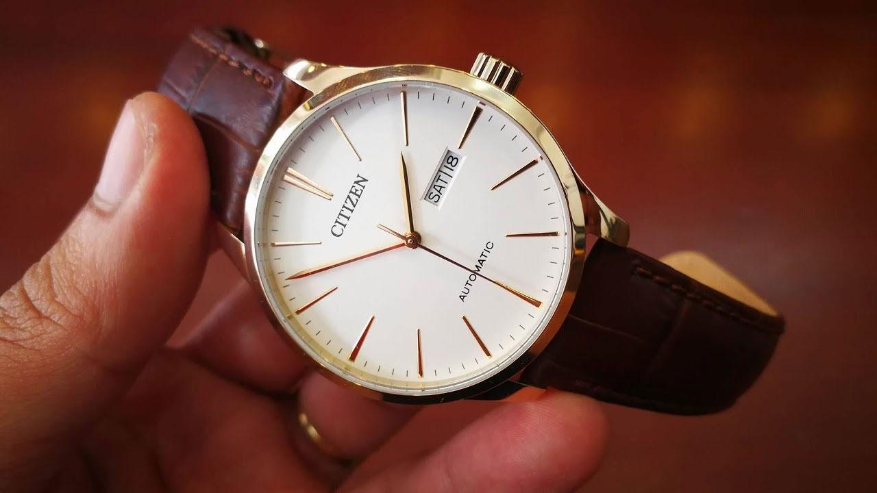 Những mẫu đồng hồ Citizen automatic hot nhất 2018