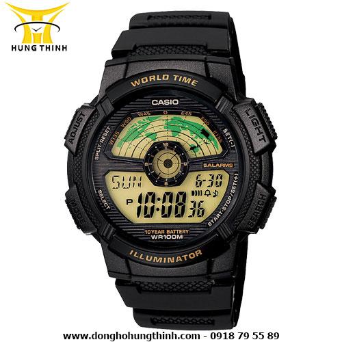 CASIO DIGITAL AE-1100W-1BVSDF