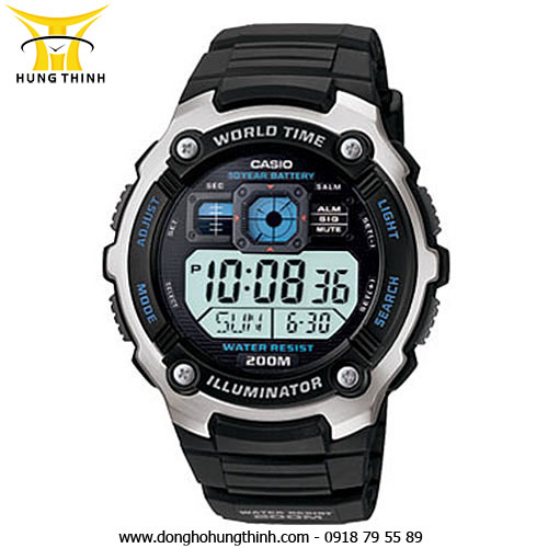 CASIO DIGITAL AE-2000W-1AVSDF