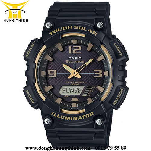 CASIO NAM PIN 10 NĂM DIGITAL AQ-S810W-1A3VDF