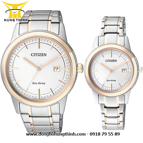 CITIZEN CẶP AW1238-59A và FE1088-50A