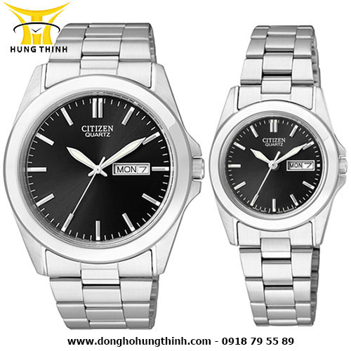 CITIZEN CẶP BF0580-57E va EQ0560-50E