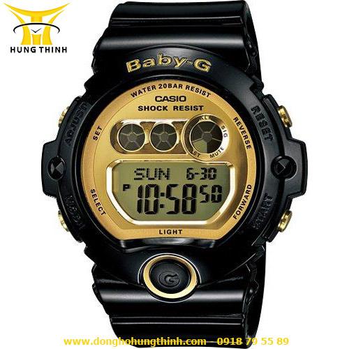 CASIO DÂY CAO SU NỮ BABY-G BG-6901-1DR
