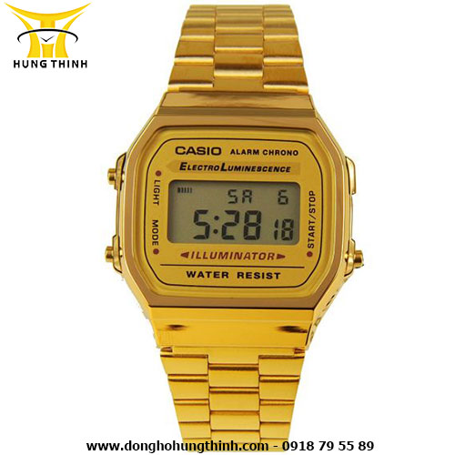 CASIO DIGITAL A168WG-9WDF