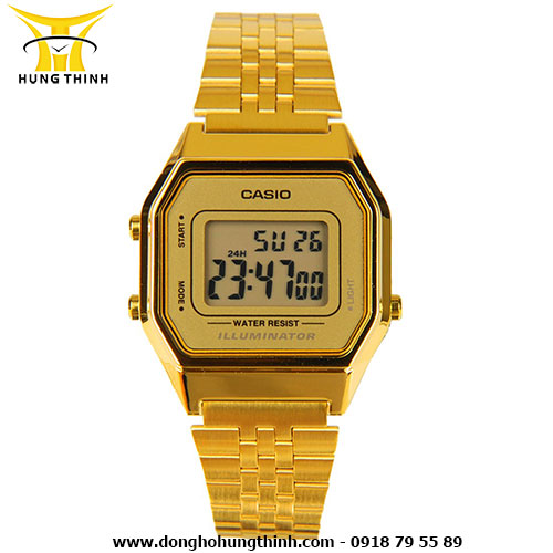 CASIO DIGITAL LA680WGA-9DF