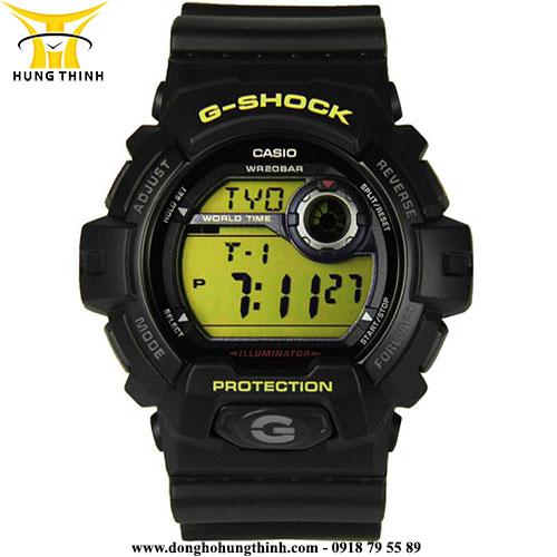 CASIO NAM DÂY VỎ NHỰA G-SHOCK G-8900-1DR