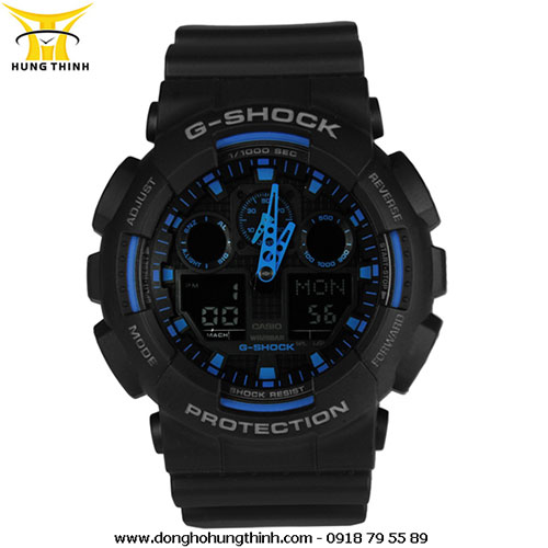 CASIO G-SHOCK GA-100-1A2DR