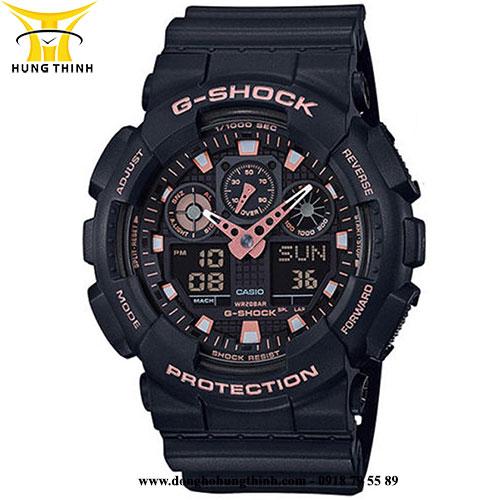 CASIO THỂ THAO NAM G-SHOCK GA-100GBX-1A4DR