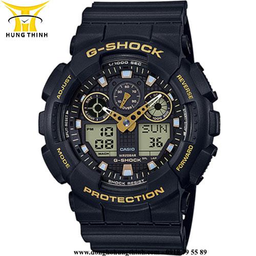CASIO THỂ THAO NAM G-SHOCK GA-100GBX-1A9DR