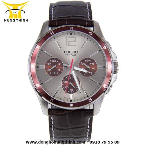 CASIO DÂY DA NAM STANDARD 6 KIM MTP-1374L-7A1VDF