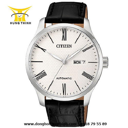 CITIZEN DÂY DA NAM AUTOMATIC 3 KIM NH8350-08A