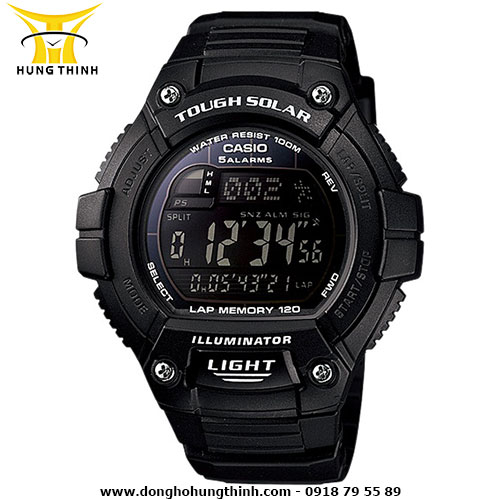 CASIO DIGITAL W-S220-1BVDF