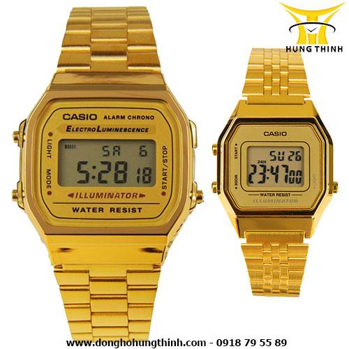 CASIO CẶP A168WG-9WDF và LA680WGA-9DF