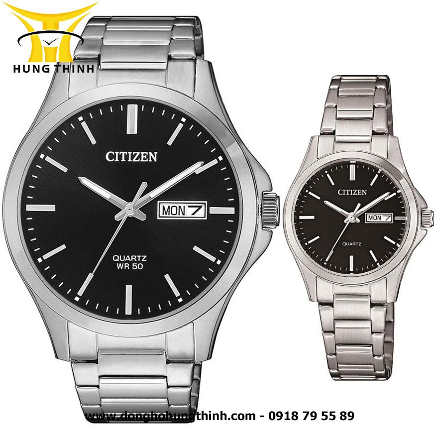 CITIZEN CẶP ĐÔI BF2001-80E VÀ EQ0591-81E