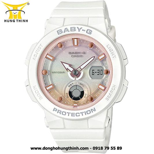 ĐỒNG HỒ CASIO BABY-G NỮ THỂ THAO CHỐNG SỐC BGA-250-7A2DR