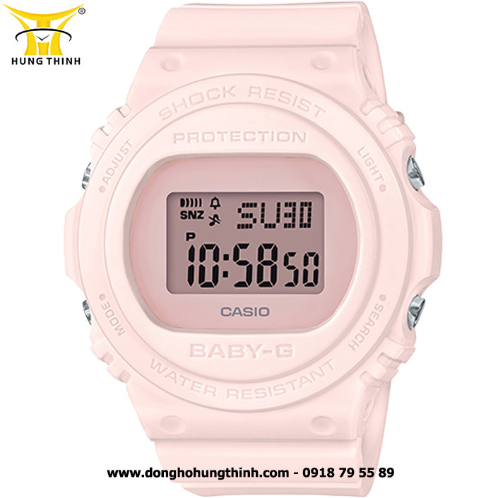 ĐỒNG HỒ CASIO BABY-G NỮ THỂ THAO CHỐNG SỐC BGD-570-4DR