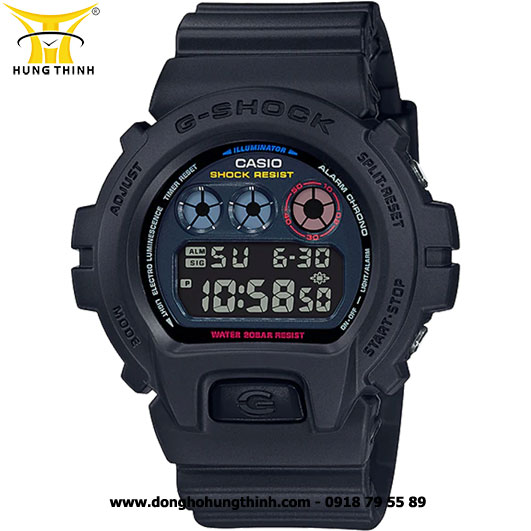 ĐỒNG HỒ CASIO THỂ THAO NAM G-SHOCK DW-6900BMC-1DR