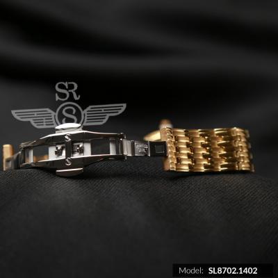 ĐỒNG HỒ SRWATCH NỮ DÂY KIM LOẠI 2 KIM SL8702.1402