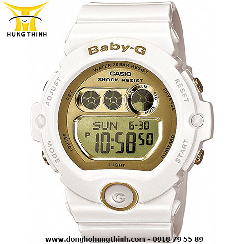 CASIO DÂY CAO SU NỮ BABY-G BG-6901-7DR