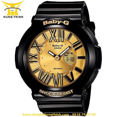 CASIO DÂY CAO SU NỮ BABY-G BGA-160-1BDR