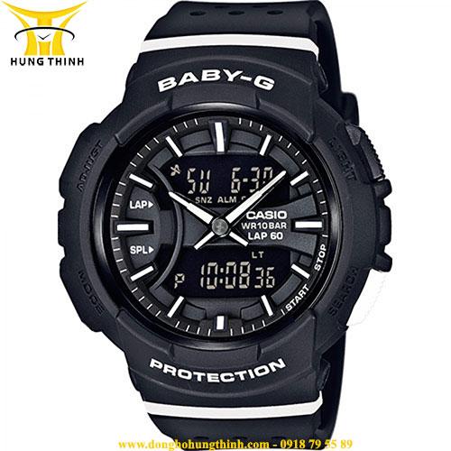 CASIO NỮ DÂY VỎ NHỰA BABY-G BGA-240-1A1DR