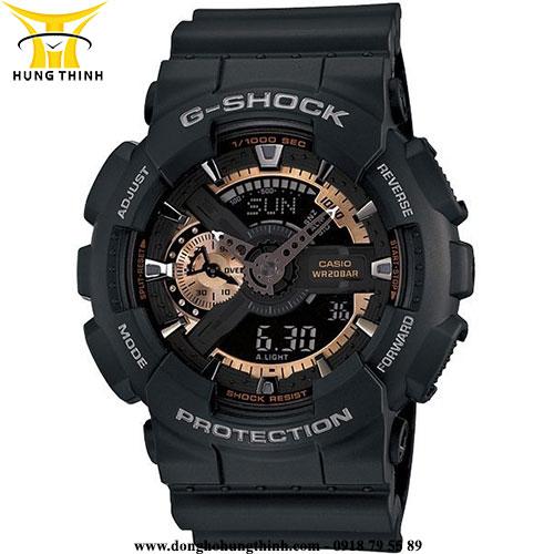 CASIO THỂ THAO NAM G-SHOCK GA-110RG-1ADR