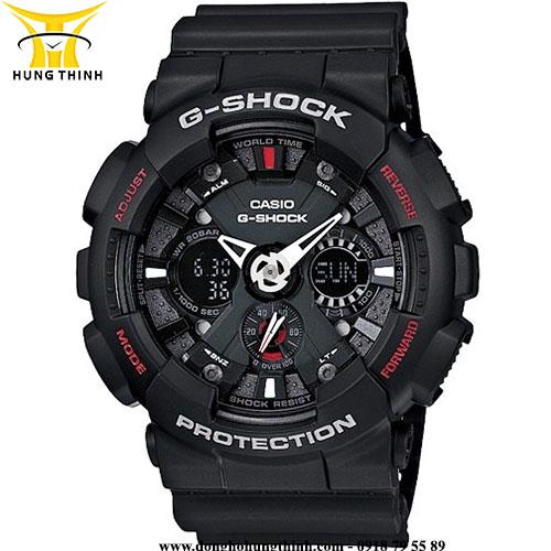 CASIO THỂ THAO NAM G-SHOCK GA-120-1ADR
