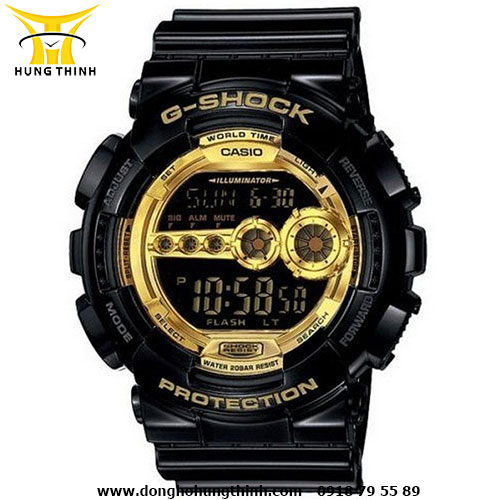 CASIO NAM G-SHOCK GD-100GB-1DR