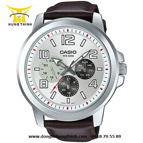 CASIO DÂY DA NAM STANDARD MTP-X300L-7AVDF