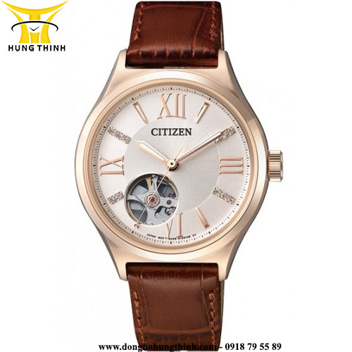 CITIZEN AUTOMATIC NỮ 3 KIM PC1003-07A