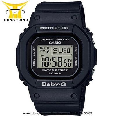 CASIO DÂY CAO SU THỂ THAO NỮ BABY-G BGD-560-1DR