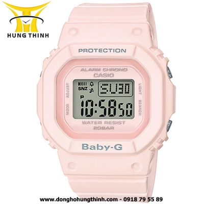 CASIO DÂY CAO SU THỂ THAO NỮ BABY-G BGD-560-4DR