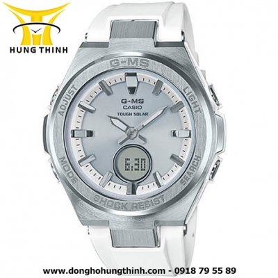 CASIO DÂY CAO SU THỂ THAO NỮ BABY-G MSG-S200-7ADR