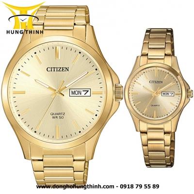 CITIZEN CẶP ĐÔI BF2003-84P VÀ EQ0593-85P