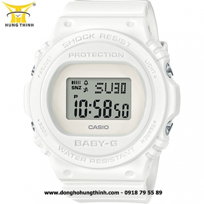 ĐỒNG HỒ CASIO BABY-G NỮ THỂ THAO CHỐNG SỐC BGD-570-7DR