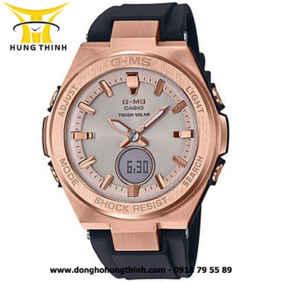 ĐỒNG HỒ CASIO DÂY CAO SU THỂ THAO NỮ BABY-G MSG-S200G-1ADR