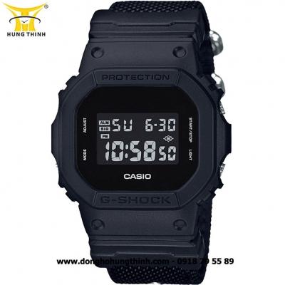 ĐỒNG HỒ CASIO THỂ THAO DÂY NATO NAM G-SHOCK DW-5600BBN-1DR