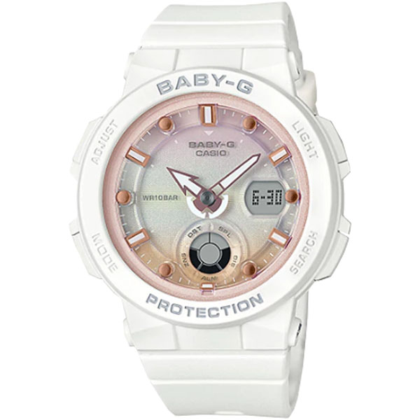 CASIO BABY-G NỮ THỂ THAO CHỐNG SỐC BGA-250-7A2DR