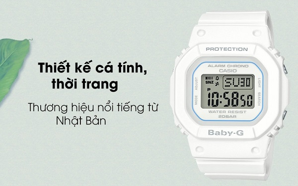 CASIO BABY-G NỮ THỂ THAO CHỐNG SỐC BGD-560-7DR