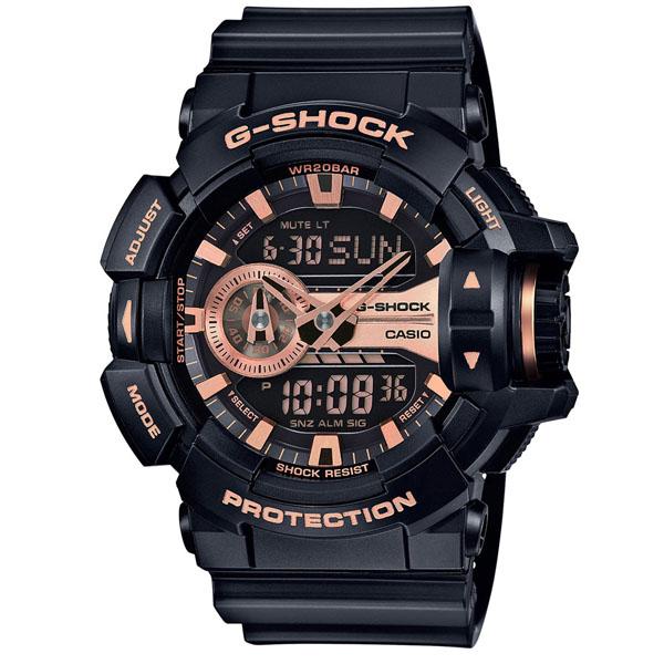 CASIO DÂY NHỰA NAM G-SHOCK GA-400GB-1A4DR