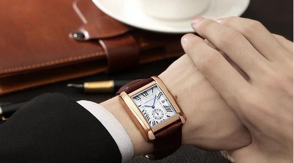 đồng hồ Orient cơ mặt vuông