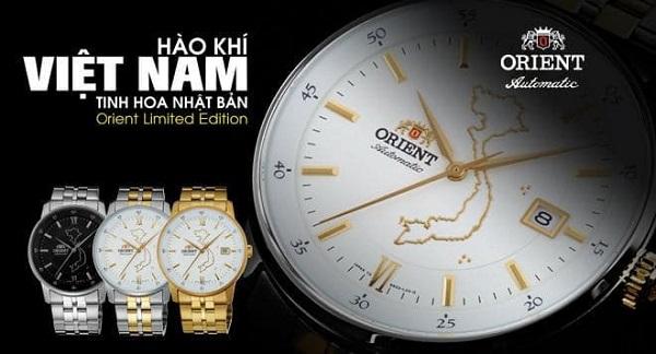 đồng hồ Orient lại có hình bản đồ Việt Nam