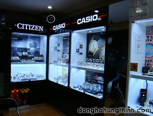 cửa hàng đồng hồ chính hãng casio